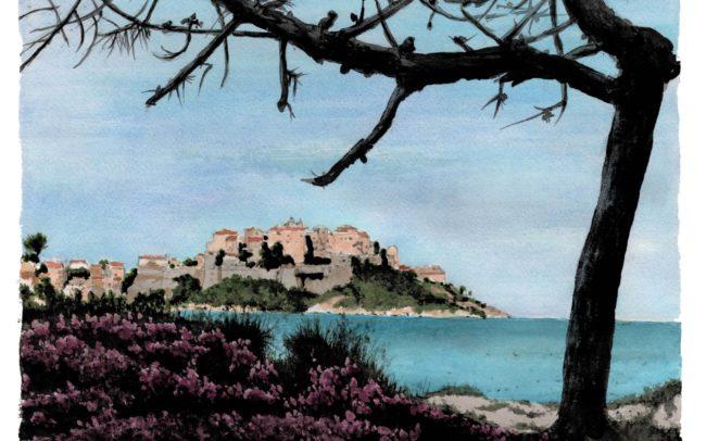 peinture-aquarelle-calvi-lecouffe