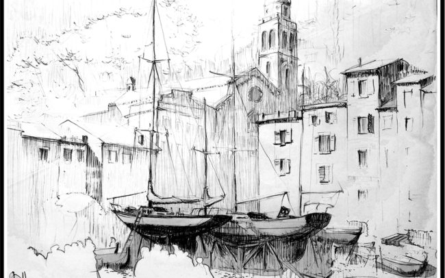 Dessin port